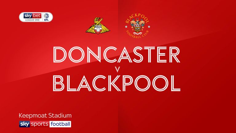 Doncaster 0-1 Blackpool: Armand Gnanduillet hits last-gasp winner
