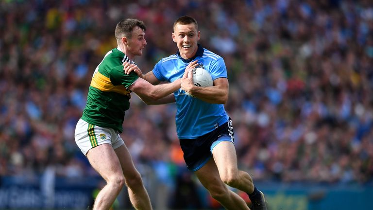 Tom O'Sullivan continued his fine form, keeping tabs on Con O'Callaghan