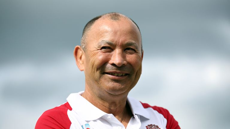Eddie Jones has guided England to three wins from three at the start of the Rugby World Cup