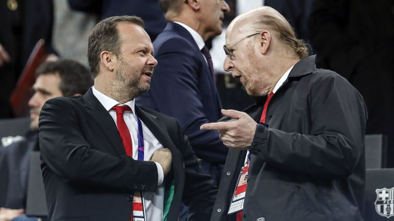 Ed Woodward faced the ire of United's crowd at Old Trafford