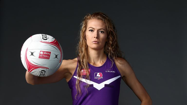 Ella Clark will continue with Loughborough Lightning in a dual role