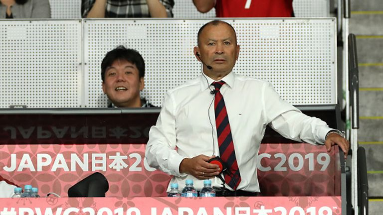 England's rugby head coach, Eddie Jones, speaks on upcoming match against Argentina
