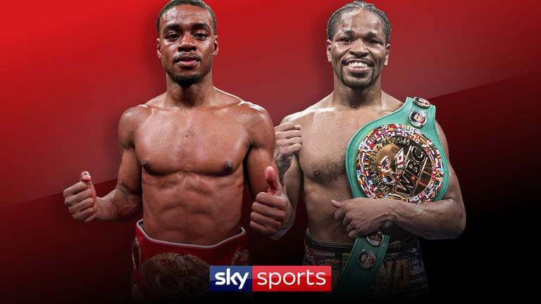 Errol Spence Jr against Shawn Porter is live on Sky Sports