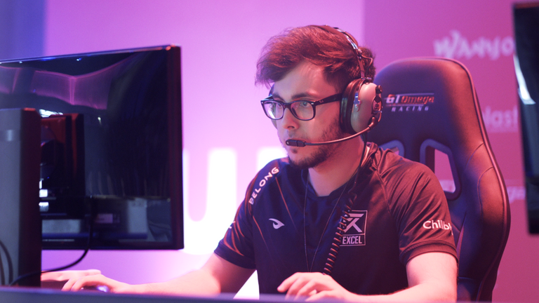 Excel's Send0o at UKLC (Credit: Excel Esports)