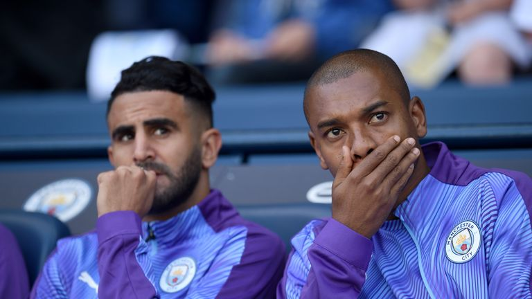 City defensive duo too old to always play - Pep