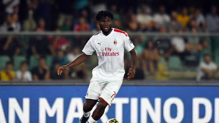 Kessie was allegedly subjected to racist abuse during the first half of Milan's loss to Hellas Veronas