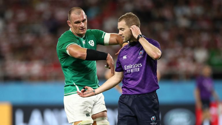 Ireland got on the wrong side of referee Angus Gardner on Saturday, and failed to adapt to him