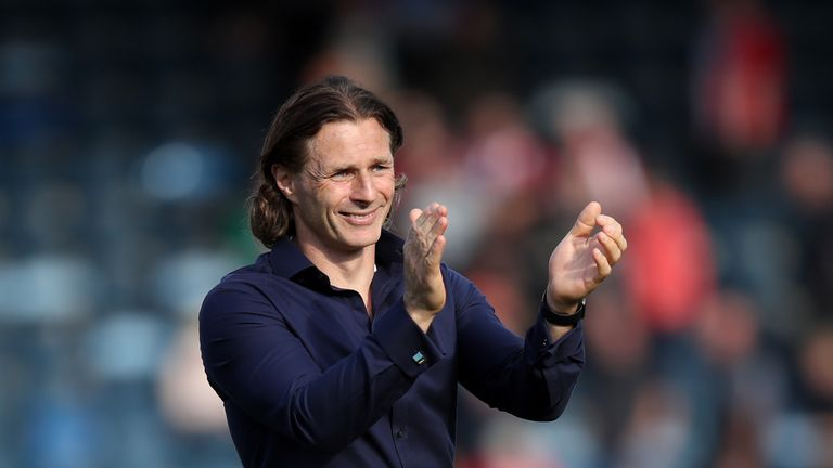 Wycombe manager Gareth Ainsworth is in demand