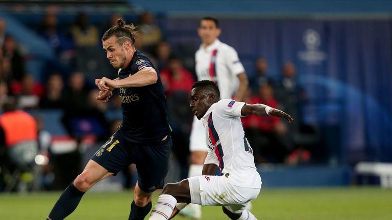 Gareth Bale had a goal disallowed for handball