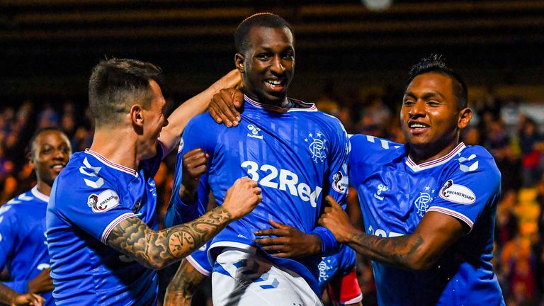 Glen Kamara's goal helped Rangers beat Livingston in the quarter-finals