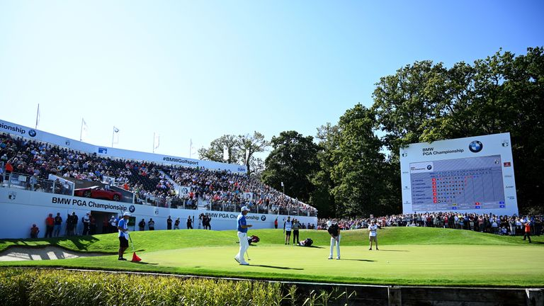 The BMW PGA Championship will now be held on October 8-11