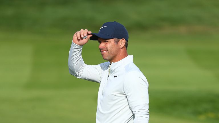 Paul Casey is one shot off the lead after a three-under par round of 69