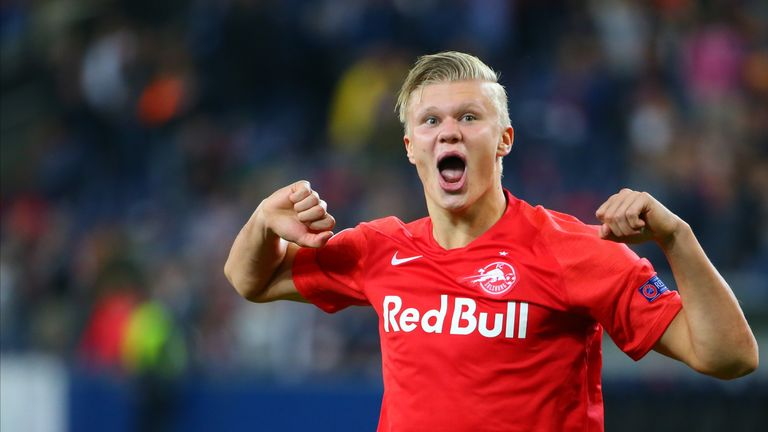 RB Salzburg striker  Erling Braut Haaland scored nine goals in a game for Norway U20s in May