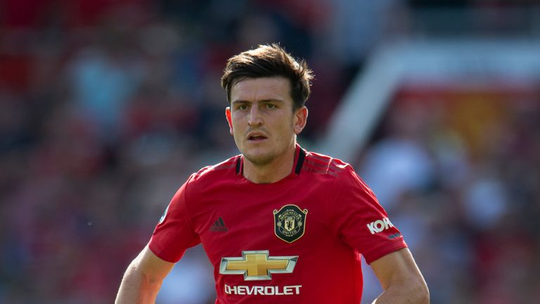 Harry Maguire moved to Manchester United for £80m this summer