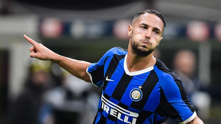 Danilo D'Ambrosio sealed Inter's win