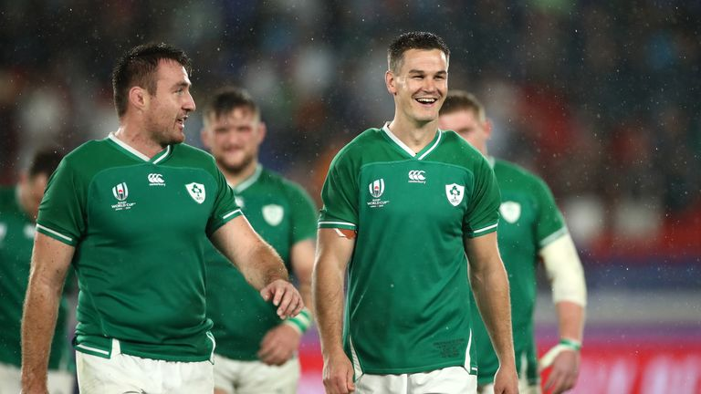 Ireland started their World Cup with a 27-3 win over Scotland