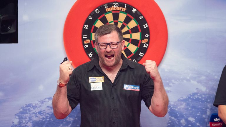 James Wade wins Players Championship 24 crown with Dave Chisnall win