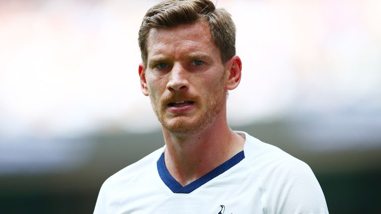 Jan Vertonghen has been linked with a move to Napoli