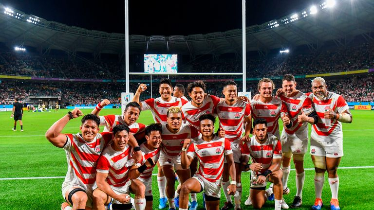 Japan could face South Africa in the quarter-finals, four years after beating them in England