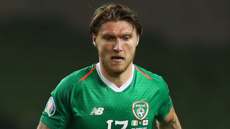 Hendrick has been capped 54 times by the Republic of Ireland