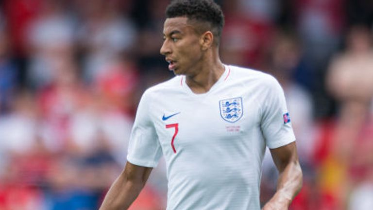 Jesse Lingard is returning to Manchester United after suffering with illness