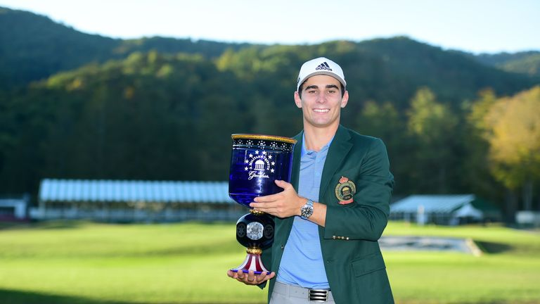 Joaquin Niemann joins elite company with Greenbrier Classic victory
