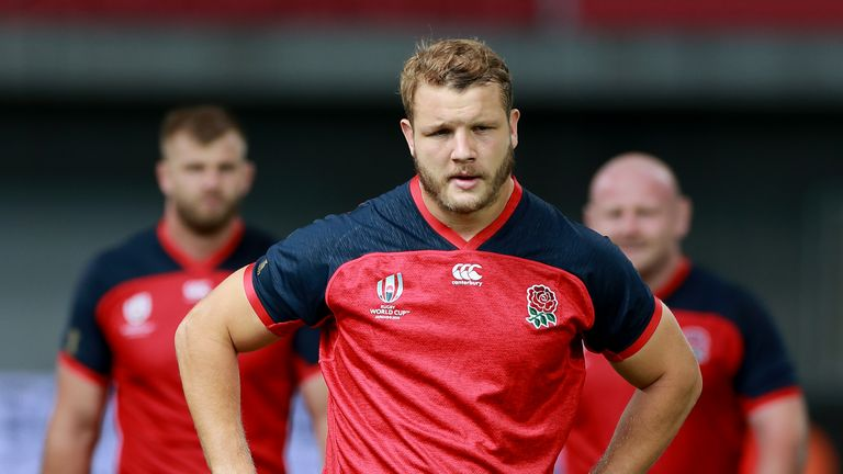 Launchbury was part of the England squad that made it to the final of the Rugby World Cup