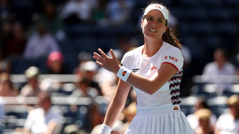 Johanna Konta has not played since September