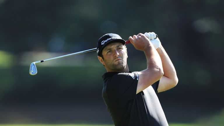 Jon Rahm finished runner-up to Willett after sharing the lead following the second and third rounds