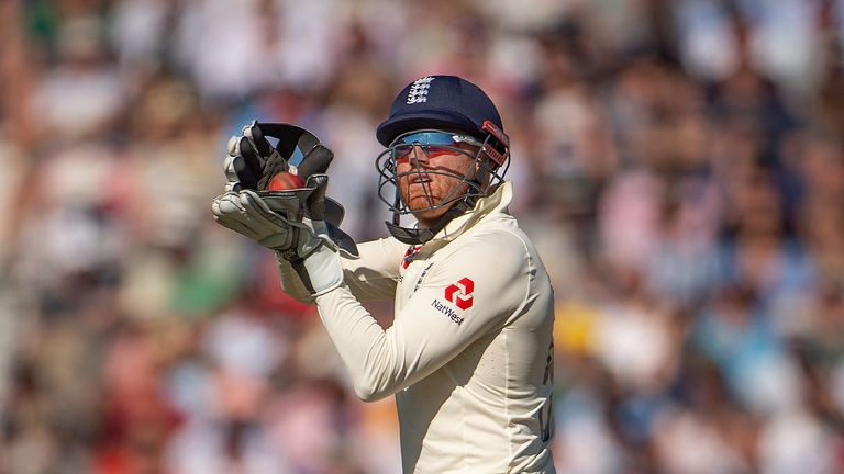Bairstow regained the wicketkeeping gloves from Ben Foakes earlier this year