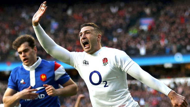 Jonny May has scored 24 tries in 46 Tests for England