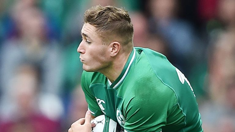 Jordan Larmour will be in the No 15 jersey against Scotland
