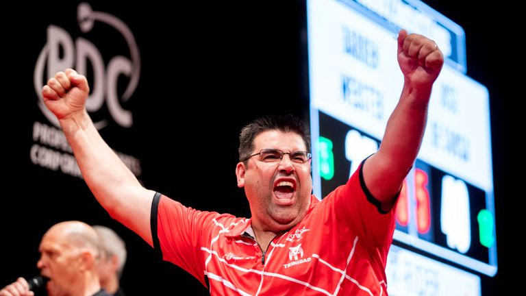 Jose De Sousa made history by becoming the first Portuguese winner of a PDC event