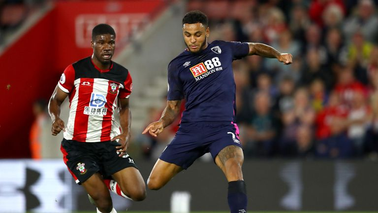 Joshua King saw his first-half strike ruled out for offside upon VAR review