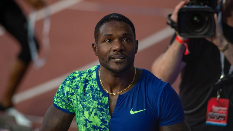 Justin Gatlin is to return to training after injury scare