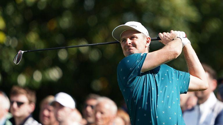 BMW PGA: Justin Rose defies knee pain to shoot 67 at Wentworth