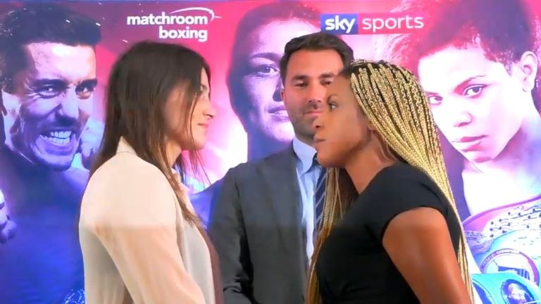 Taylor vs Linardatou: Katie Taylor's opponent vents anger over rematch clause before world title fight | Boxing News |