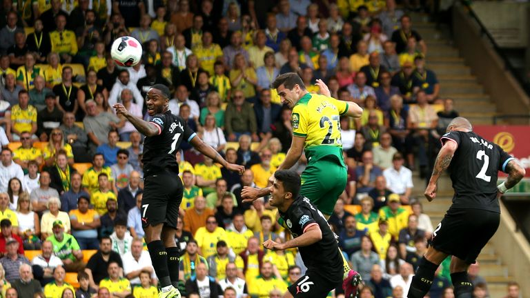 Kenny McLean scores for Norwich vs Manchester City