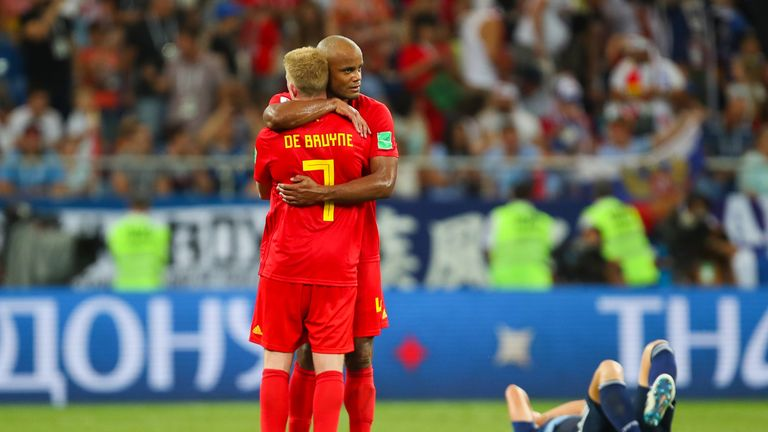 The pair finished third with Belgium at the 2018 FIFA World Cup
