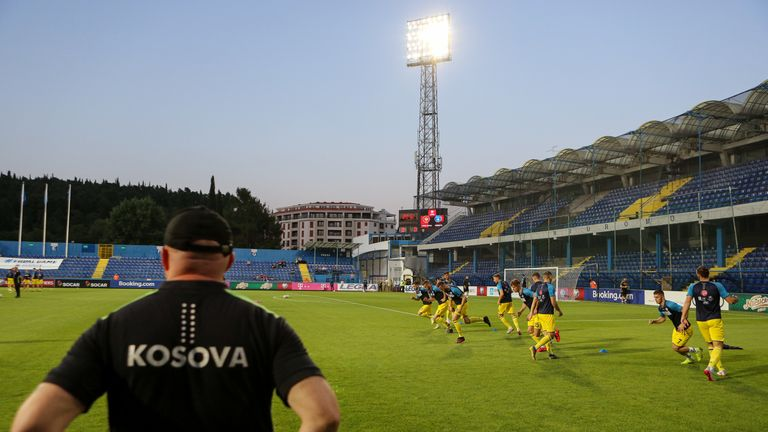 Kosovo are currently 120th in the FIFA world rankings