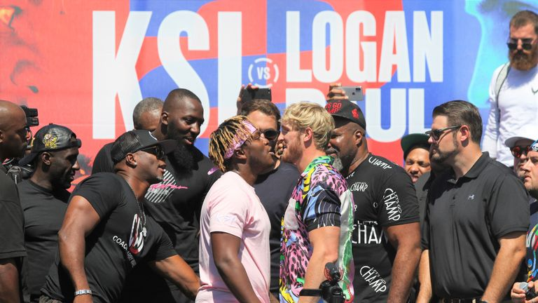 KSI and Logan Paul are followed by millions of fans on social media