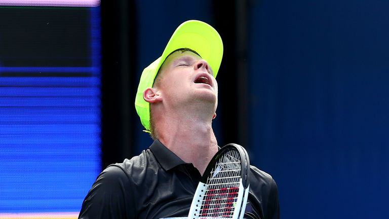 Kyle Edmund has not won a match since a first-round victory against Nick Kyrgios in Montreal last month