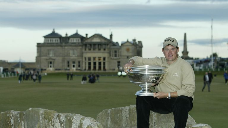 Westwood claimed a one-shot win over Ernie Els in 2003