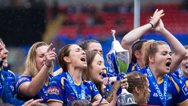 Leeds won this year's Women's Challenge Cup