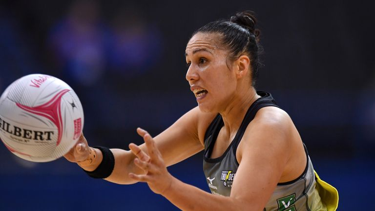 Liana Leota, now of the Severn Stars, will face her former Thunder side in the second round