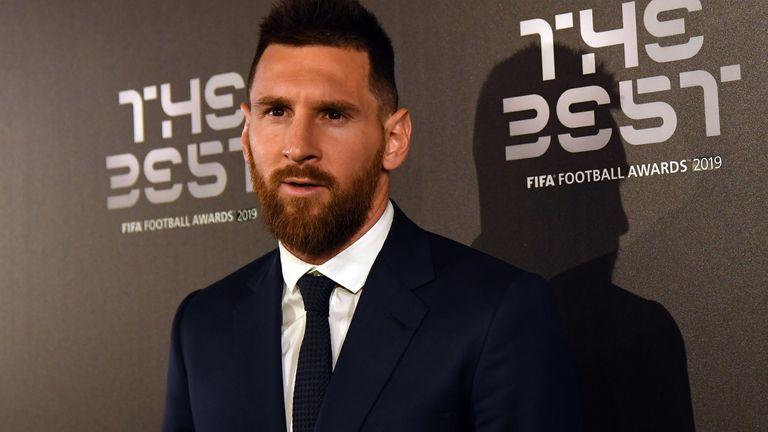 Lionel Messi beat Virgil van Dijk to win FIFA's The Best award in September