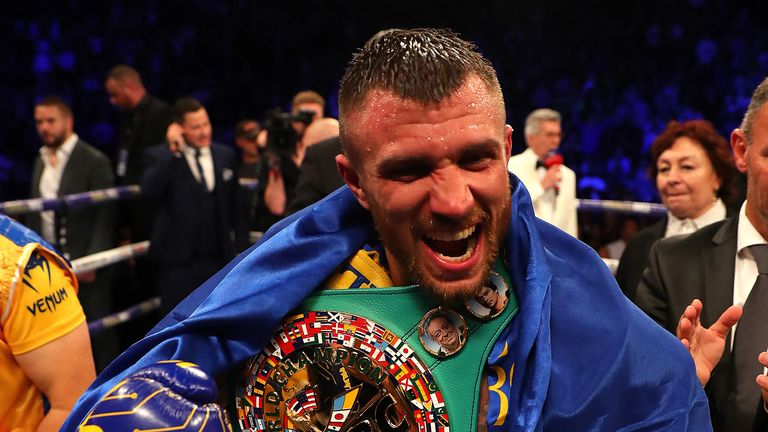 Vasiliy Lomachenko is likely to face Teofimo Lopez in a unification clash