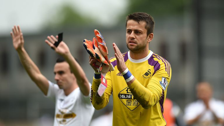 Fabianski spent four years at Swansea before their relegation in 2018