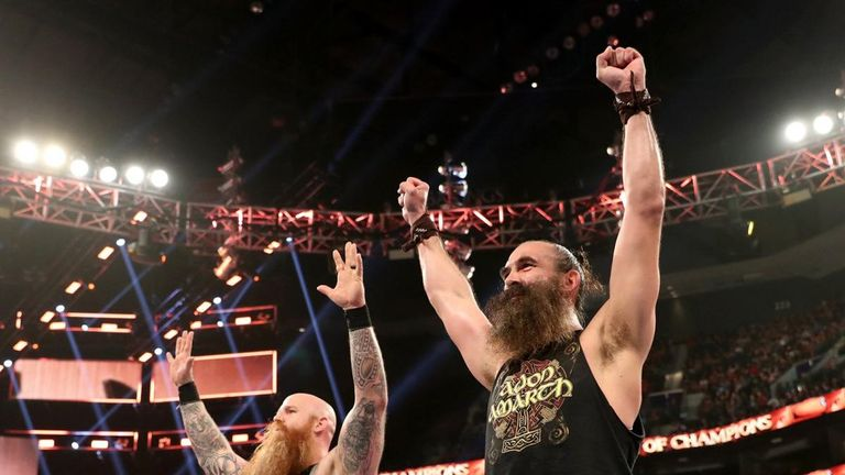 Luke Harper made an impactful return to WWE after some time away