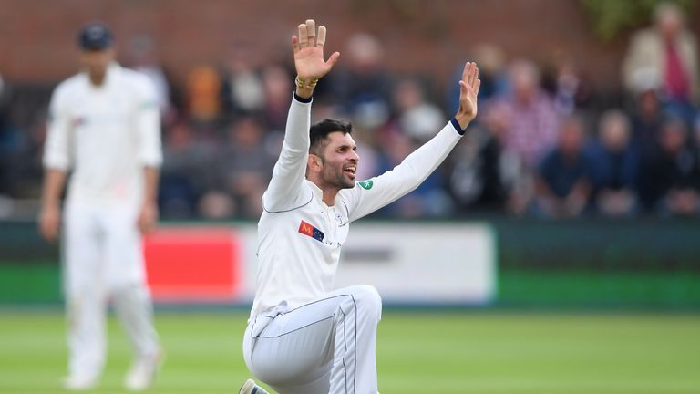 Keshav Maharaj has taken 33 wickets in nine innings in the County Championship so far